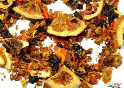 Früchtetee (Orange)