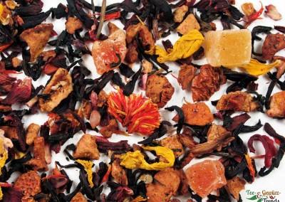 Schwarzer Tee mit Pfirsicharoma