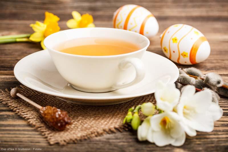 Neue Ideen rund um den Tee zur Osterzeit